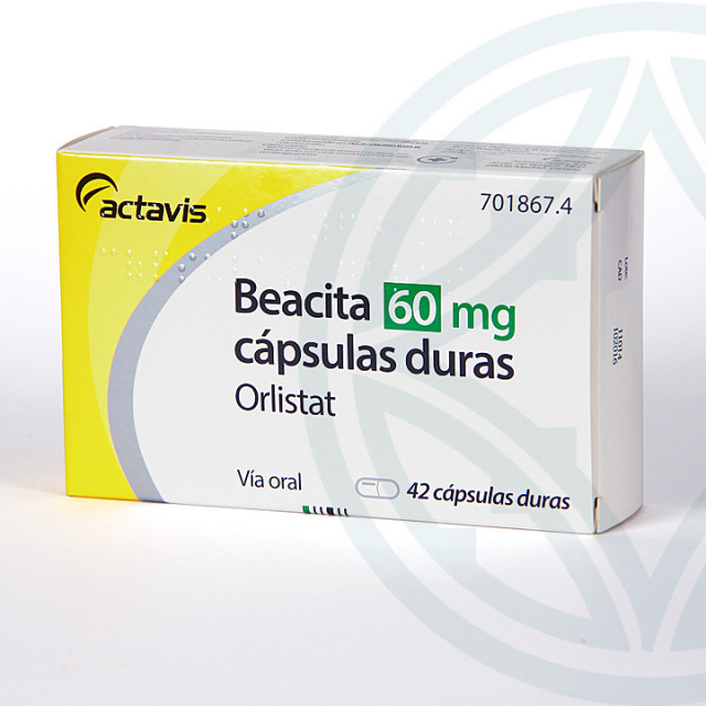 Beacita 60 mg 42 cápsulas