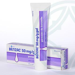 Benzac 50 mg/g gel tópico 40 g
