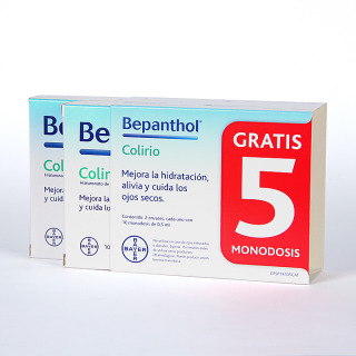 Bepanthol Colirio 15 monodosis + 5 Gratis