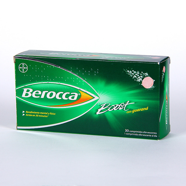 Berocca Boost 30 comprimidos efervescentes