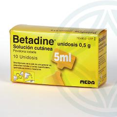 Betadine 10% solución Tópica