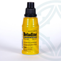 Betadine solución cutánea 125 ml