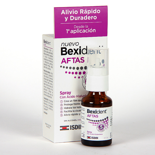 Bexident Aftas Spray Bucal 15 ml