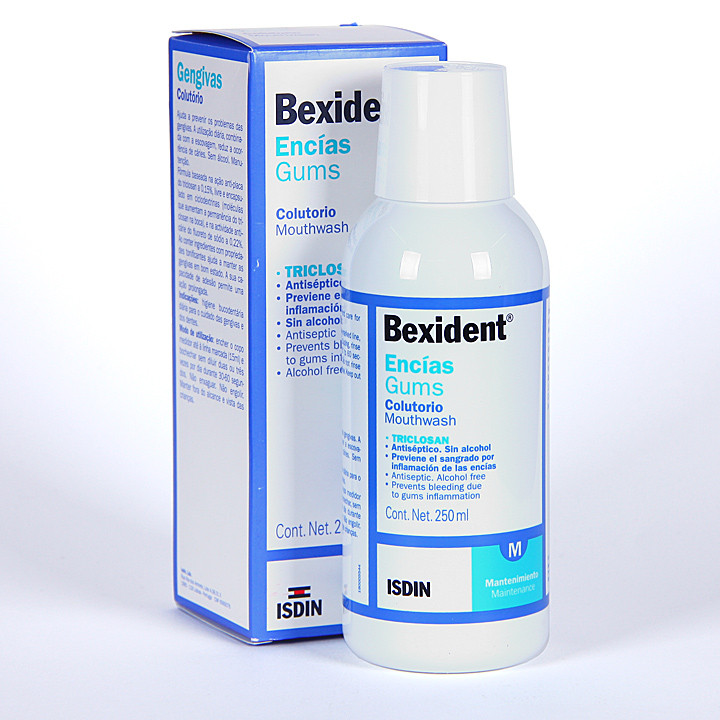 Bexident Encías Colutorio Triclosan 250 ml