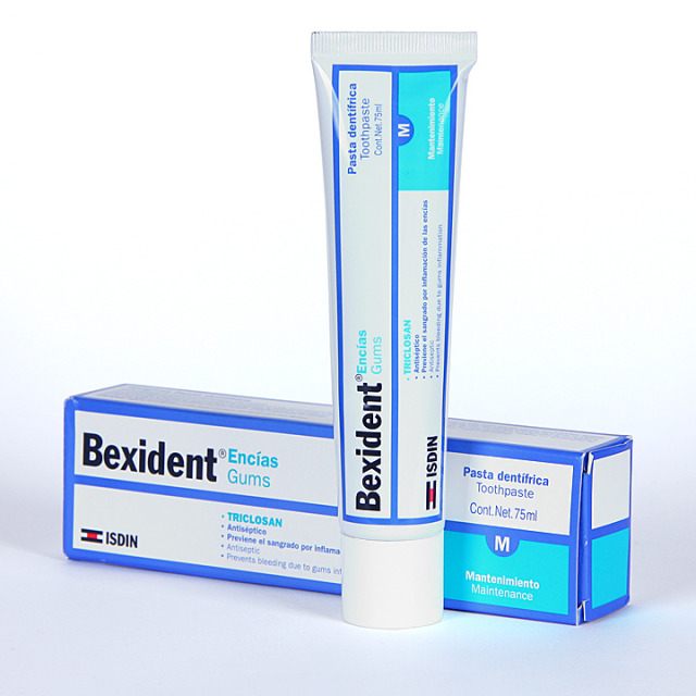 Bexident Encías Triclosan Pasta Dentífrica 75 ml