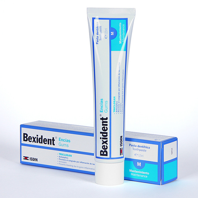 Bexident Encías Triclosan Pasta Dentífrica 125 ml