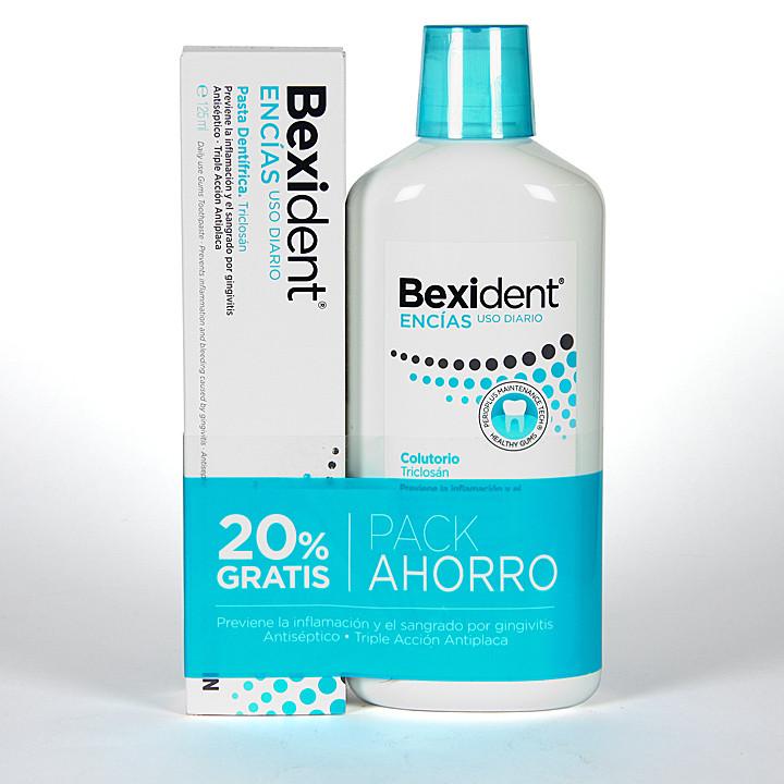 Bexident Encias Uso Diario Triclosan Colutorio + Pasta Promoción -20%