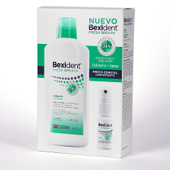 Bexident Fresh Breath Colutorio + Spray Pack aliento fresco