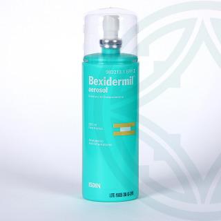 Bexidermil 100 mg/ml aerosol tópico