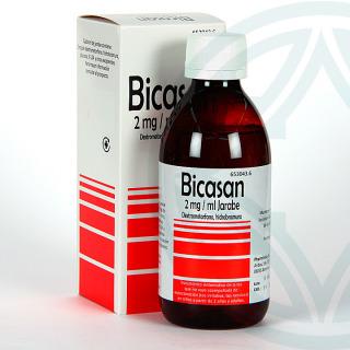 Bicasan 2 mg/ml Jarabe 250 ml