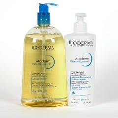 Bioderma Atoderm Intensive Baume 500 ml + Atoderm Aceite de Ducha 1 L Pack Ahorro