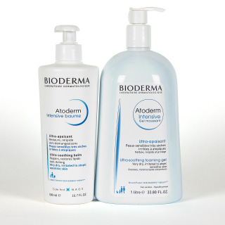 Bioderma Atoderm Intensive Gel Moussant + Atoderm Intensive Baume Pack ahorro