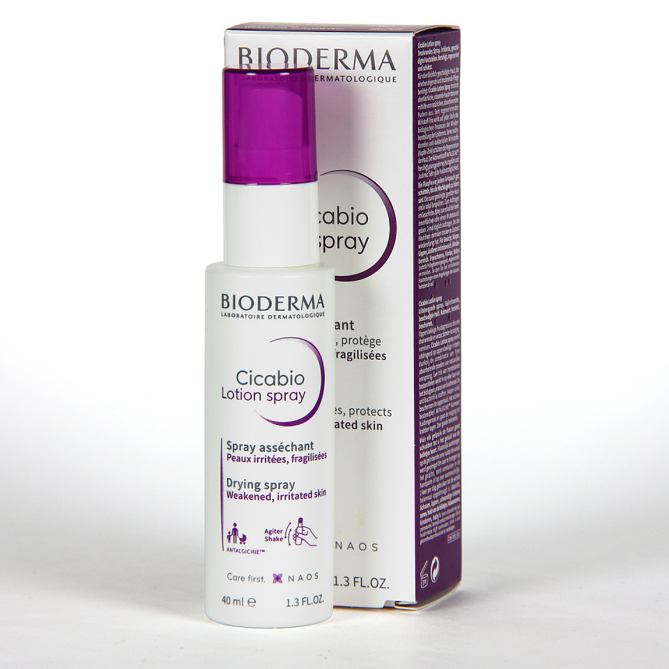 Bioderma Cicabio Loción Spray 40 ml