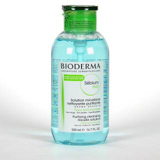 Bioderma Sebium H2O PUMP Solución Micelar 500 ml