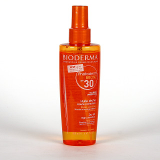 Bioderma Photoderm Bronz SPF 30 Aceite Solar Bronceador Spray 200 ml