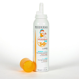 Bioderma Photoderm KID Mousse SPF 50+ Espuma Solar 150 ml