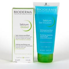 Bioderma Sebium Global 30 ml + Sebium Gel Moussant Limpiador 100 ml Pack ahorro