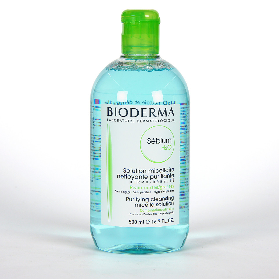 Bioderma Sébium H2O Agua micelar Frasco 500 ml