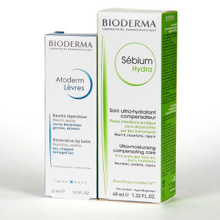 Bioderma Sébium ISOKIT Crema Facial 40 ml + Bálsamo Labial 15 ml