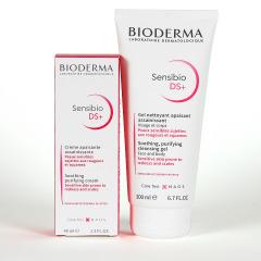 Bioderma Sensibio DS+ Crema 40 ml + Sensibio DS+ Gel limpiador 50% descuento Pack