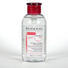Bioderma Sensibio H2O PUMP Solución micelar piel sensible Dosificador 500 ml