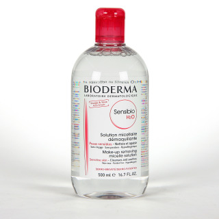 Bioderma Sensibio H2O Solución micelar piel sensible Frasco 500 ml