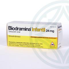 Biodramina Infantil solución oral 5 monodosis