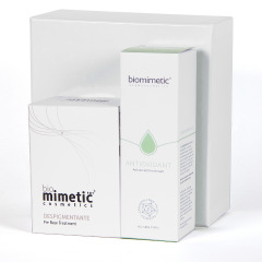 Biomimetic Pre Base Despigmentante + Antioxidante Advanced Tratamiento Pack