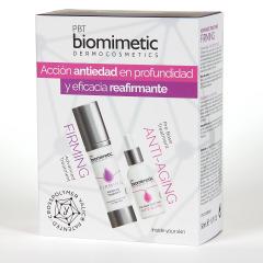 Biomimetic Prebase Antiedad + Advanced Tratamiento Reafirmante Pack