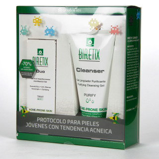 Biretix Duo + Cleanser Gel Limpiador Pack