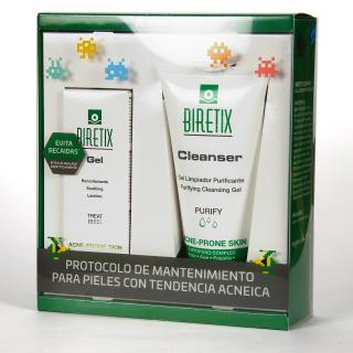 Biretix Gel Reconfortante + Cleanser Gel limpiador Pack Promoción