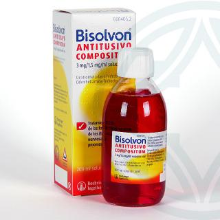 Bisolvon antitusivo compositum solución oral