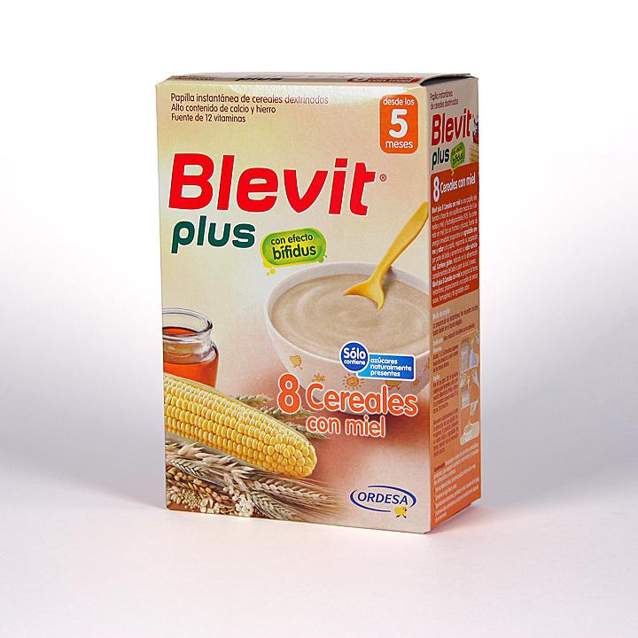 Blevit Plus 8 Cereales Miel 300 g
