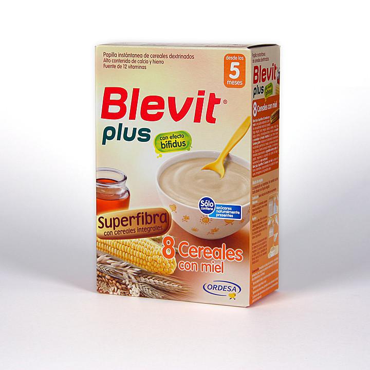 Blevit Plus 8 Cereales Miel Superfibra 300 g