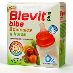 Blevit Plus Bibe 8 Cereales y Fruta 600 g