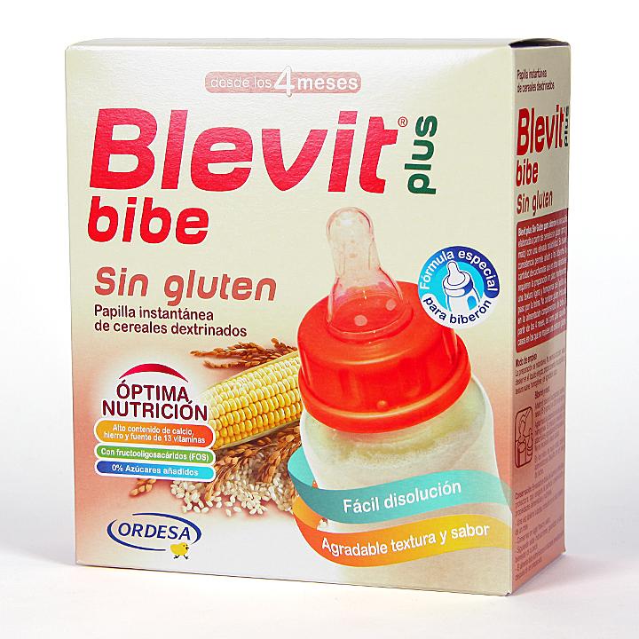 Blevit Plus Bibe cereales sin gluten para biberón 600 g