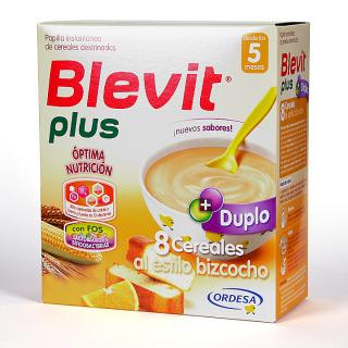 Blevit Plus Duplo 8 Cereales Estilo Bizcocho 600 g