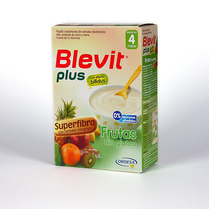 Blevit Plus Frutas sin gluten Superfibra 300 g