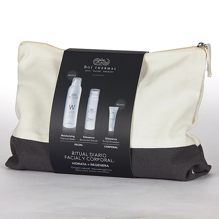 Boí Thermal Neceser Renascent Serum + Agua Thermal M + Tri oil Emulsión Pack