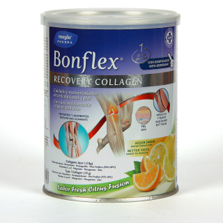 Bonflex Recovery Colágeno Bote 397,5 g sabor cítrico