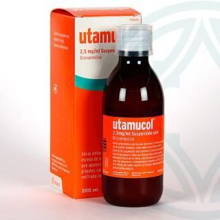 Utamucol suspensión oral 200 ml