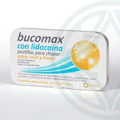 Bucomax Lidocaína 8 pastillas para chupar sabor miel y limón