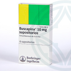 Buscapina 10 mg 6 supositorios