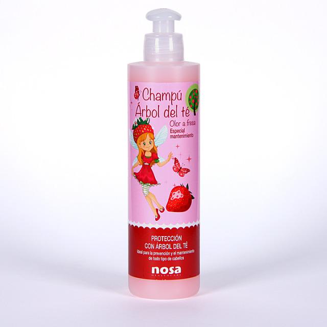 Nosa Champú Árbol del Té olor fresa 250 ml