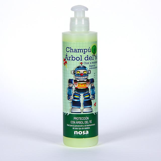 Nosa Champú Árbol del Té olor manzana 250 ml