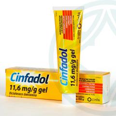 Cinfadol 11,6 mg/g gel 100 g