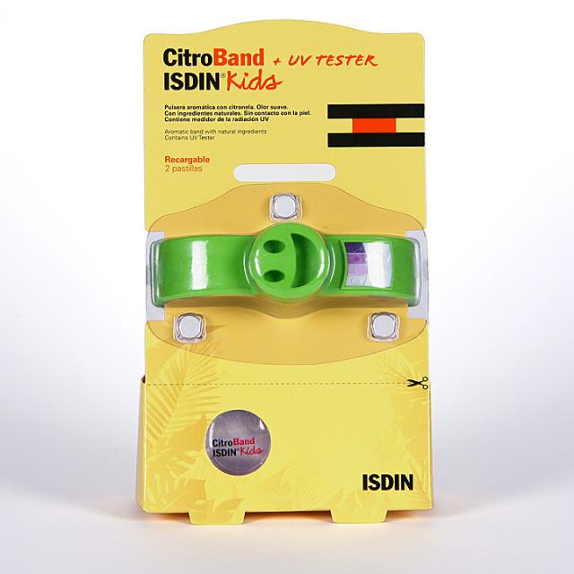 Citroband Isdin UV Tester Kids Pulsera Recargable