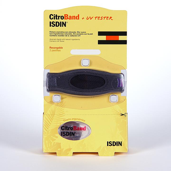 Citroband Isdin UV Tester Pulsera Recargable