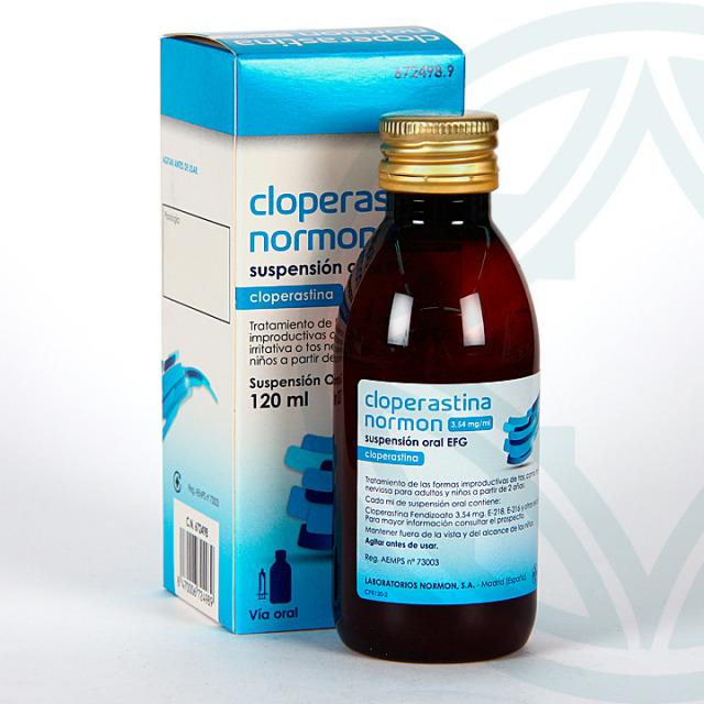 Cloperastina Normon EFG Suspensión oral 120 ml