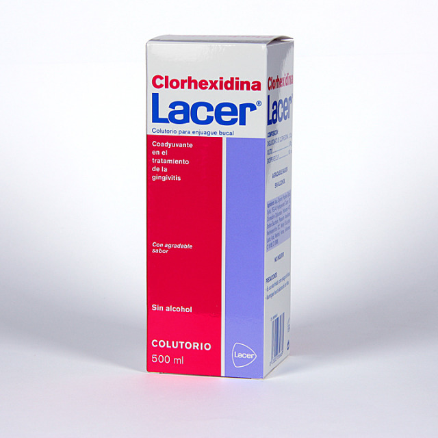Clorhexidina Lacer Colutorio 500 ml